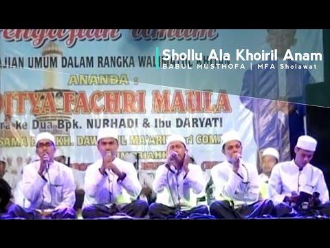 BABUL MUSTHOFA SHOLLU ALA KHOIRIL ANAM Live Bantarbolang Pemalang   MFA Sholawat Channel