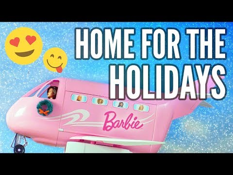Barbie and Her Friends Head Home for the Holidays | Barbie