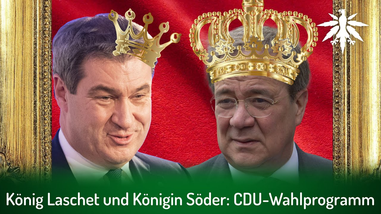 König Laschet und Königin Söder: CDU-Wahlprogramm | DHV-News # 299