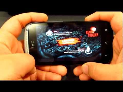 HTC One S Gaming Test - Batman TDKR, Dead Trigger and Riptide GP