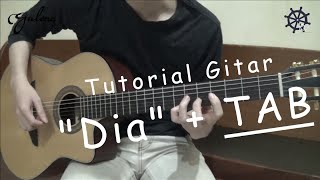 Video Belajar Gitar (Dia - Anji)+TAB download MP3, 3GP, MP4, WEBM, AVI, FLV Januari 2018