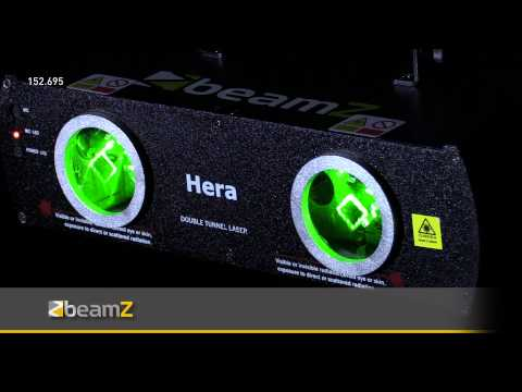 BeamZ Hera 2-Way Laser Green 80mW DMX 152.695