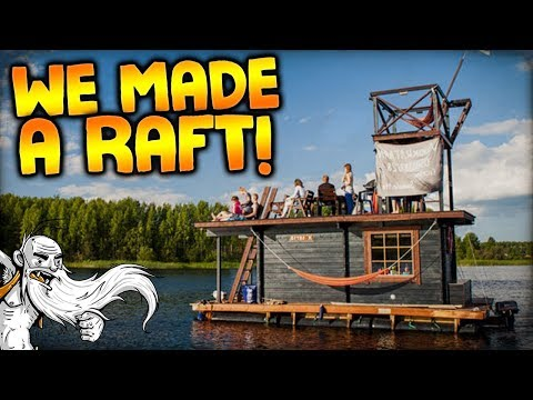 We made a RAFT! - Let's Play Bermuda Lost Survival Gameplay