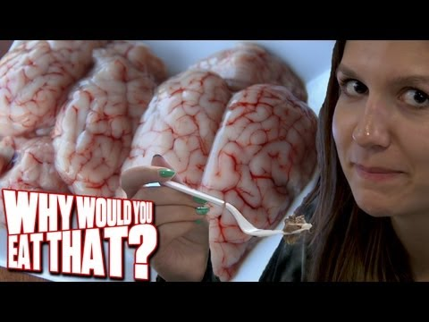 Sesos aka Squishy Cow Brains! - Why Would You Eat That?