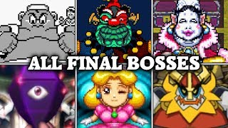 Evolution of Final Boss Fights in Wario games