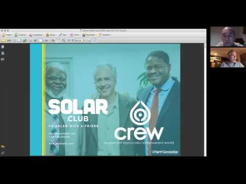 CREW Solar.Club -- SOLAR FOR EVERYONE
