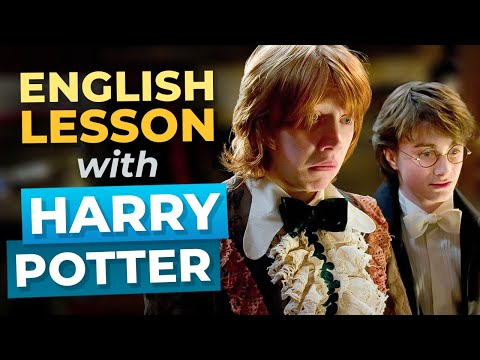 LEARN ENGLISH With Harry Potter And The Goblet Of Fire — The Yule Ball