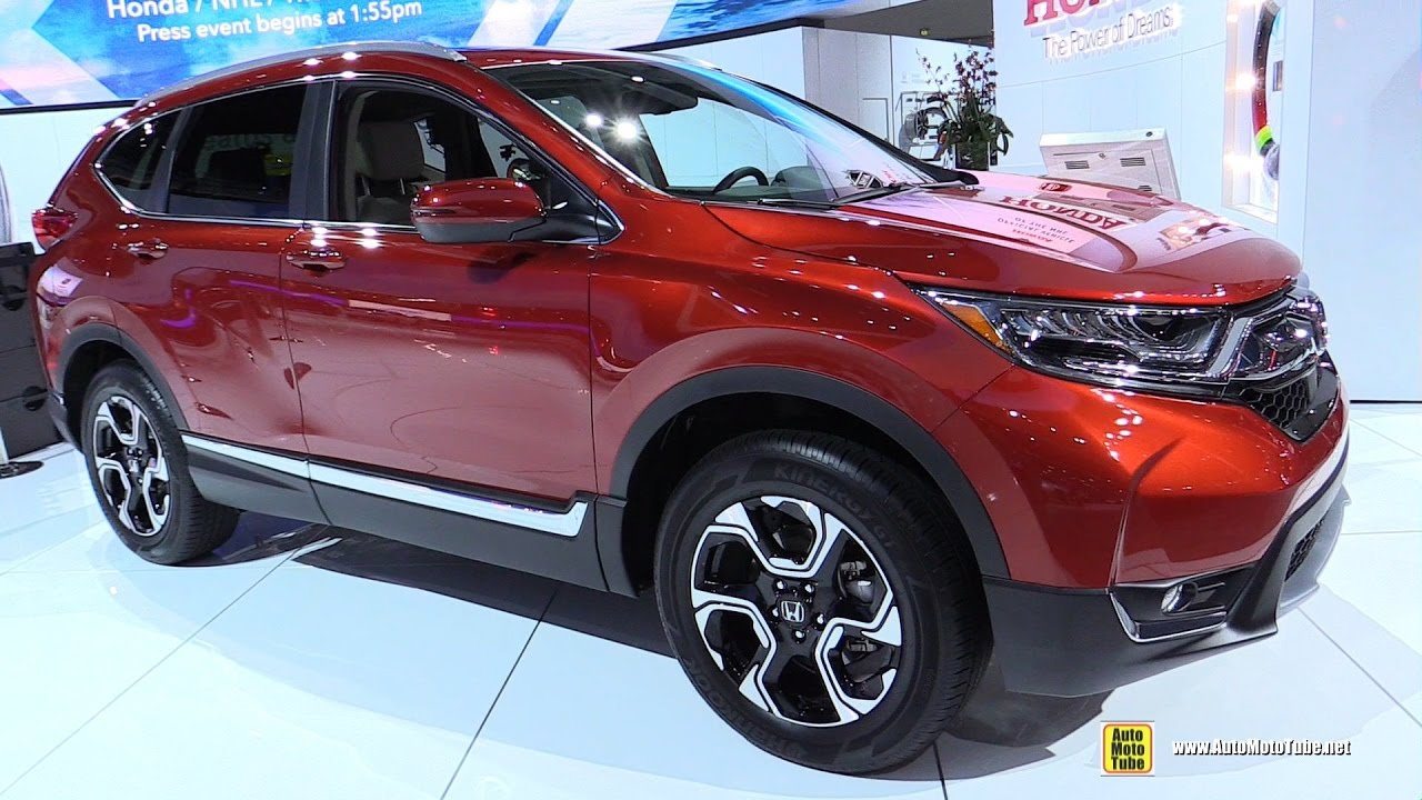 2017 honda crv touring awd exterior and interior walkaround debut at 2016 la auto show youtube. Black Bedroom Furniture Sets. Home Design Ideas