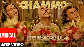 "Presenting the lyrical video song ""chammo"" from upcoming bollywood movie housefull 4. belongs to era of 1419 filled with grandeur and ep..."