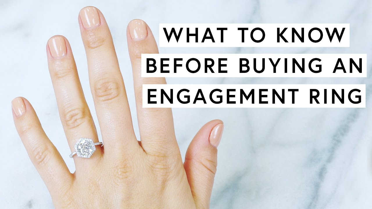 What To Know Before Buying An Engagement Ring | The Zoe Report By ...