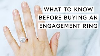 What To Know Before Buying An Engagement Ring | The Zoe Report By Rachel Zoe