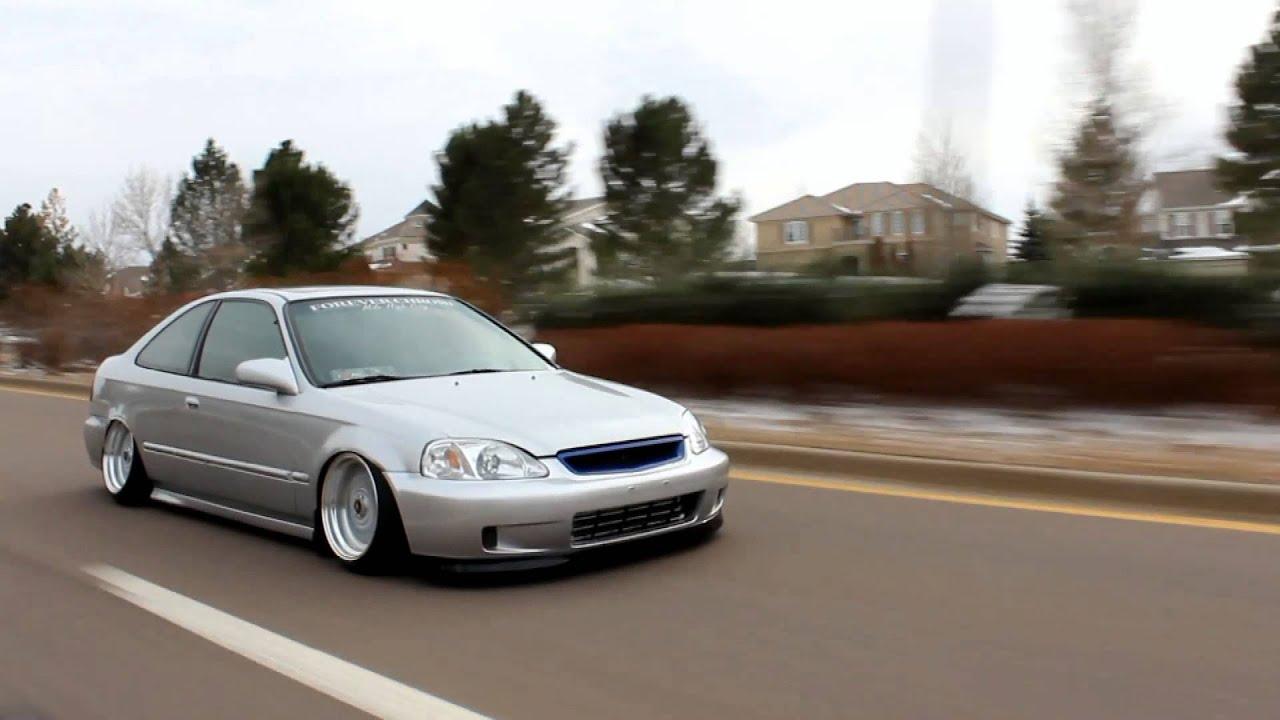 REAR-WHEEL DRIVE HONDA CIVIC...ONE OF A KIND?? - YouTube