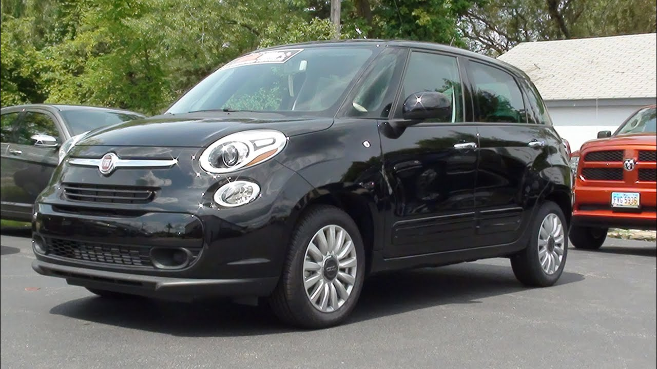 mvs 2014 fiat 500l easy youtube. Black Bedroom Furniture Sets. Home Design Ideas