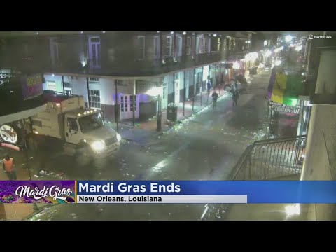 New Orleans Begins Cleaning Up After Mardi Gras