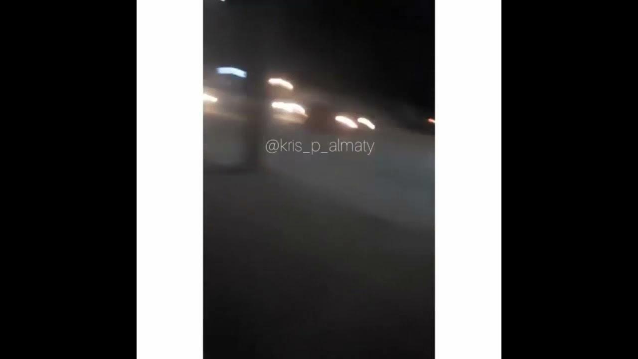 Экшн на Рыскулова: водитель Camry пытался скрыться от полиции