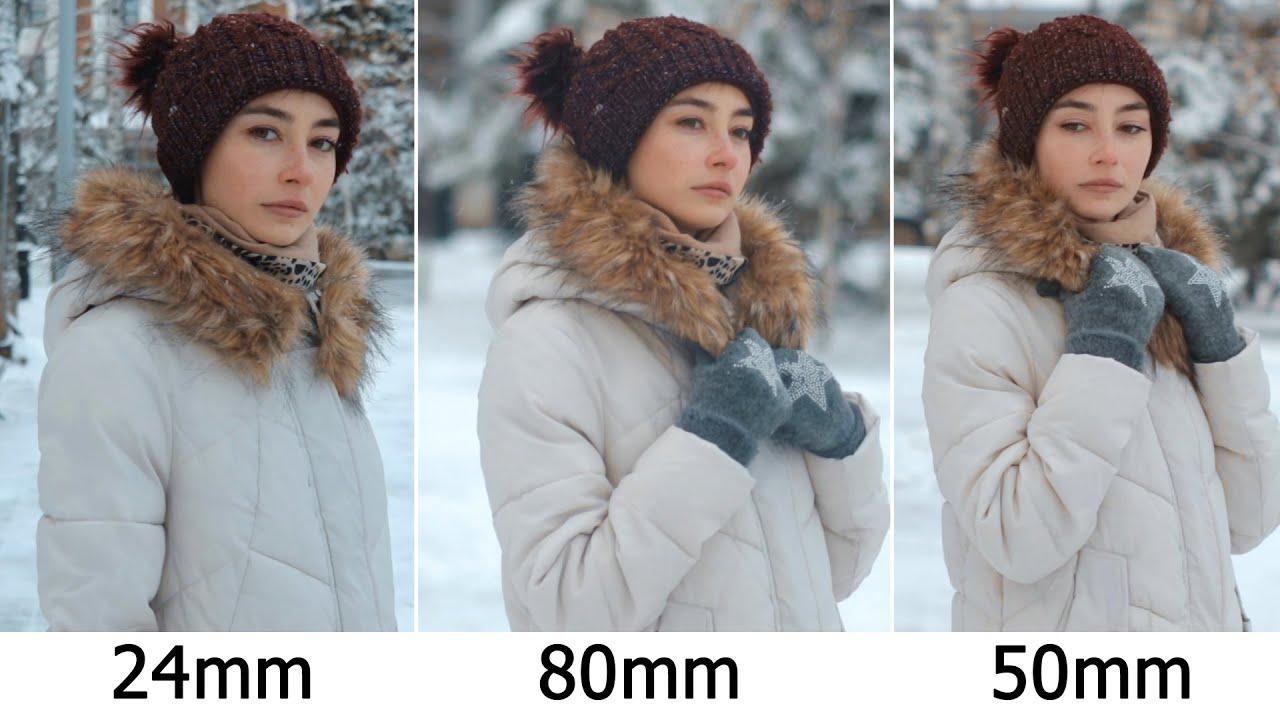 Как выбрать объектив? 24mm VS 50mm VS 80mm / СРАВНЕНИЕ