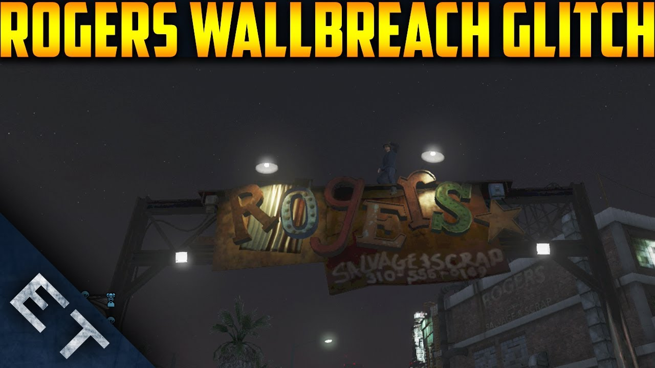 Gta V Online  Rogers Building Wallbreach  How To Get Inside