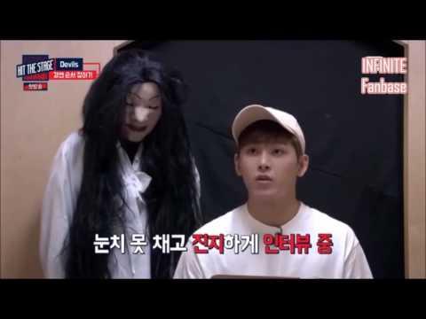 [HIT THE STAGE] Ghost Prank or Hidden Camera - INFINITE Hoya cut.
