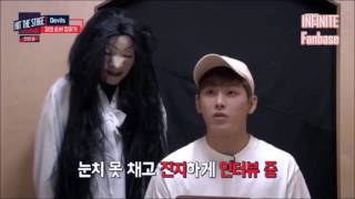 [HIT THE STAGE] Ghost Prank or Hidden Camera - INFINITE Hoya cut.