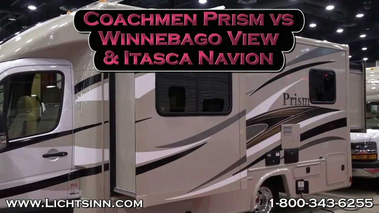 2013 Coachmen Prism vs 2013 Winnebago View & 2013 Itasca Navion