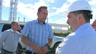 Заместитель главы администрации Андрей Воронов осмотрел объекты благоустройства в отдалённых районах
