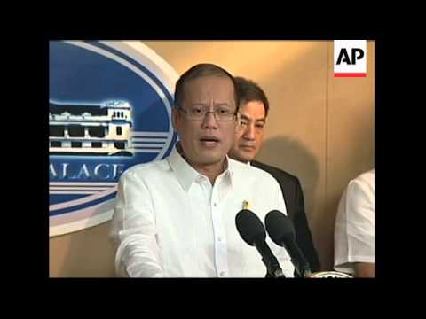 President Aquino comments on bus hijack report