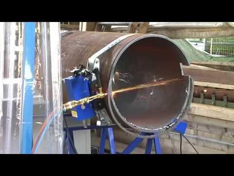 Машина для орбитальной резки труб Zinser (Германия)