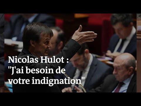 Biodiversité : « J'ai besoin de votre indignation », lance Nicolas Hulot à l'Assemblée nationale