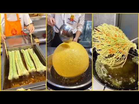 Oddly Satisfying Ninja Cooking Skills P(01) ?? Tik Tok China ? Great Asian Ninja Skills