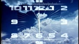 Новые стилизованные часы Первого Канала 16:9