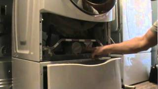 front load washer won t spin out clothes pump cleanout   www goodappliancesuperstore com