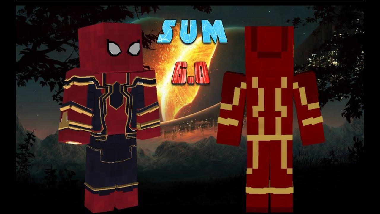 Мод superheroes unlimited для minecraft.