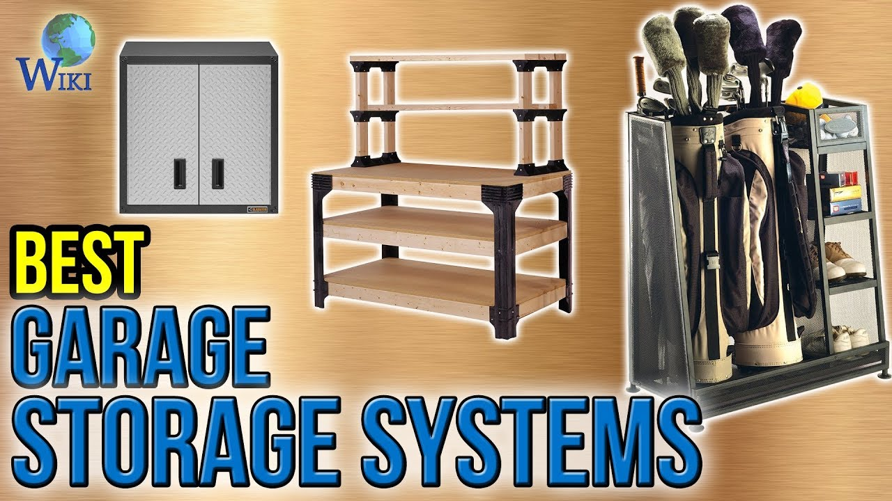 10 Best Garage Storage Systems 2017