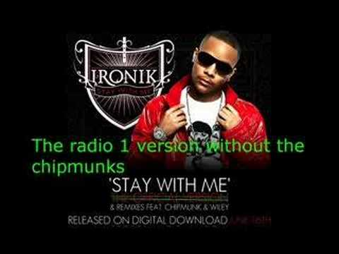 Dj Ironik - Stay With Me *Official* Without The Chipmunks