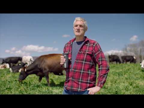 Organic Dairy Farmer Takes on NYC Coffee