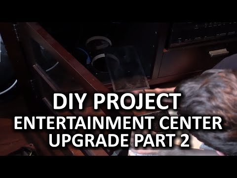 Entertainment Center Cooling Mod - Silence Upgrade - DIY Project