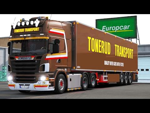 ETS 2 1.26 ProMods 2.15 Scania R620  Örebro - Oslo
