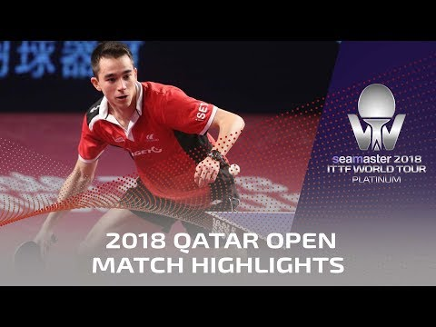 2018 Qatar Open Highlights I Timo Boll vs Hugo Calderano (R16)