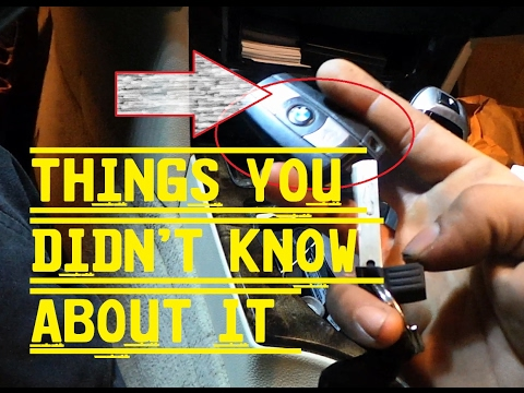 THINGS YOU DIDN'T KNOW ABOUT YOUR BMW KEY