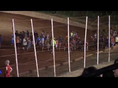 Winder Barrow Speedway Kids Foot Race