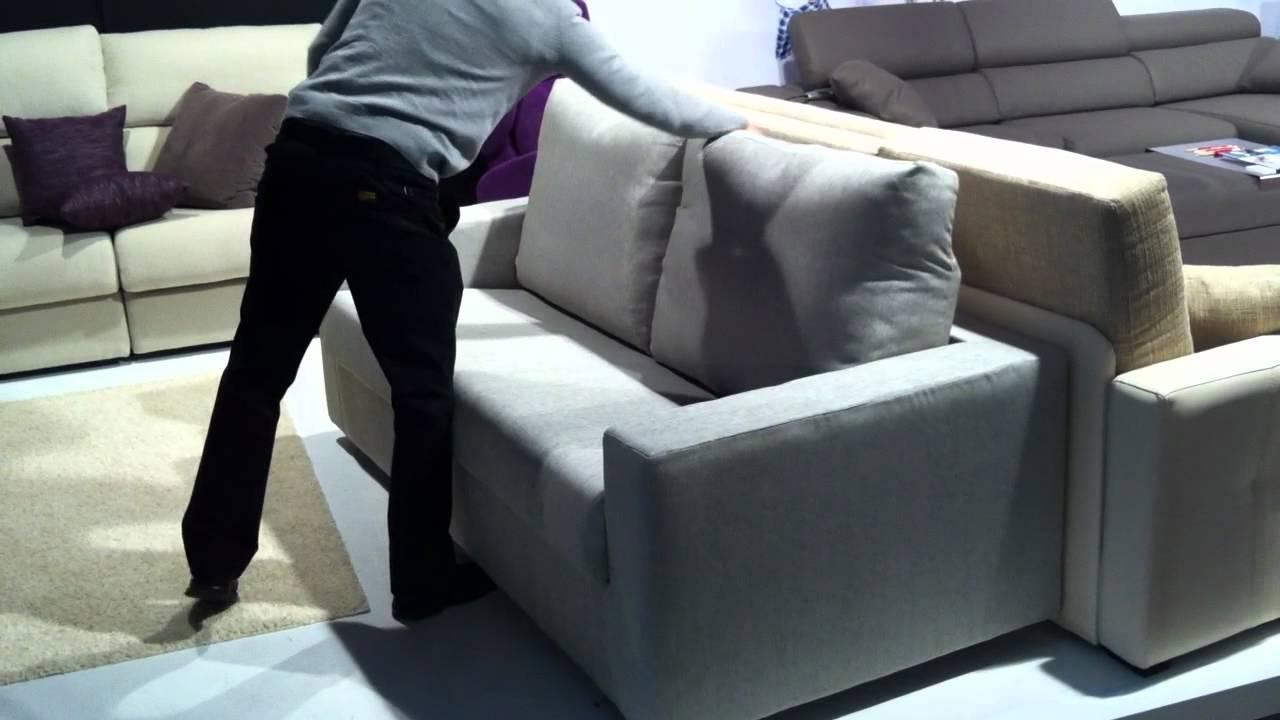 Cómo se abre un sofá cama italiano - YouTube
