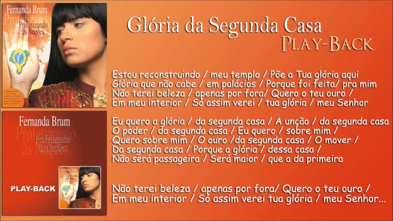 cd de fernanda brum gloria playback