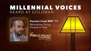 Millennial Voices Heard at Goldman: Kurston Cook