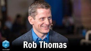 روب توماس IBM | IBM بيانات منظمة العفو الدولية منتدى