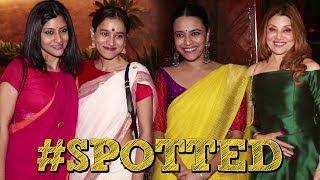 #SPOTTED - Swara Bhaskar & Konkona Sen Spotted At Jalsa