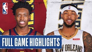 Gambar cover CAVALIERS at PELICANS | FULL GAME HIGHLIGHTS | February 28, 2020