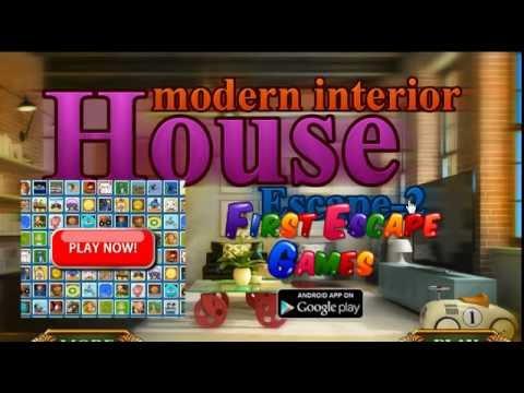 Modern Interior House Escape 2 Walkthrough FirstEscapeGames