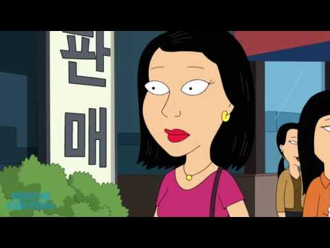 Family Guy -Peter Gets Plastic Surgery in Korea