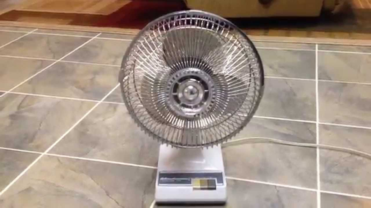 Windmere 7 Oscillating Fan : Quot windmere kuo horng table fan youtube