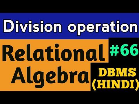 Dbms ii mca-ch5-ch6-relational algebra-2013.